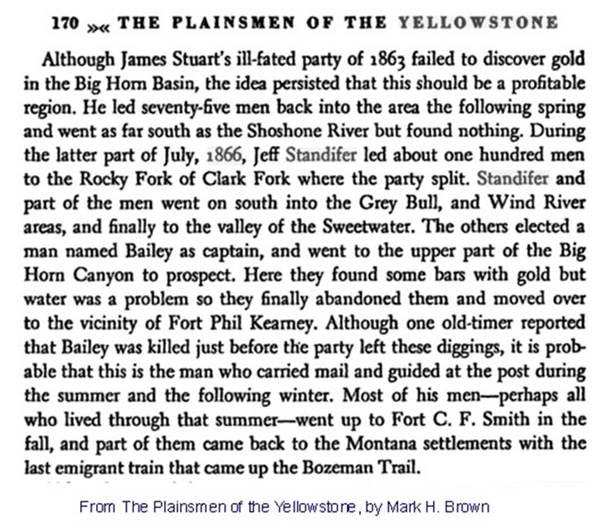 Geyser Bob's Yellowstone Park History Service - Prospecting Paradise