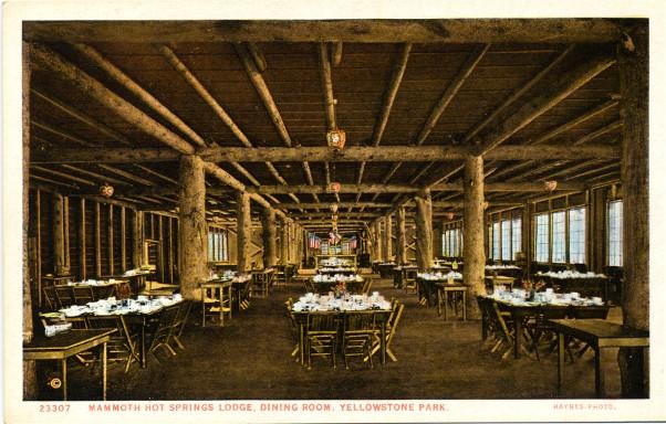 Geyser Bob S Yellowstone Park History Service Mhs Hotel