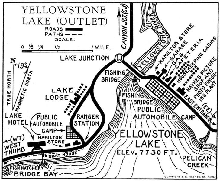 Geyser Bob S Yellowstone Park History Service Lake